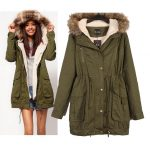 2019 Women Down Coat A Parka New Faux Fur Hooded Army Green Outwear Winter  Overcoat Large Big Size Thick Coat Jacket For From Sunnyroom, $42.98 |  Traveller Location