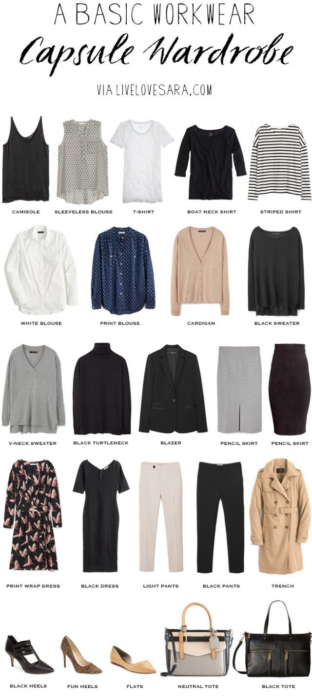 Work-Wear Wardrobe Essentials for Women