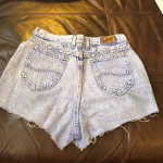✨HP!✨LEE DENIM CUT OFF SHORTS Acid/ Light wash LEE denim cut off shorts Size...