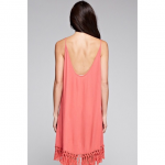 🆕 Best Of All Coral Fringe Dress The casually chic style of the Best of All C...