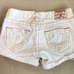 🆕 List True Religion Johnny Cutoff Shorts size 26 These True Religion Johnny ...