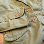 🍋J CREW CHINO blazer jacket Sz xs J.crew  Broken in chino  Cotton blazer /jac...