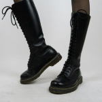 🖤❤️ Vintage 90s steel toe 20 eyelet Dr. Martens Wonderful rare 90's black...