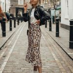 10+ Cool Ways To Style A Leopard Satin Skirt