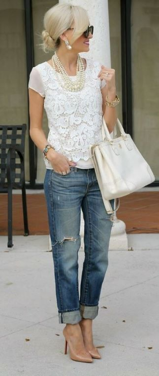 10 Super Chic Ways To Wear Boyfriend Jeans – Society19