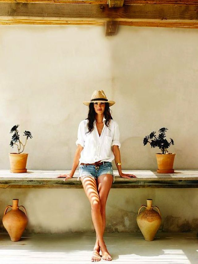 10 Ways To Wear a Summer Hat || Summer Outfit Ideas || Summer Style