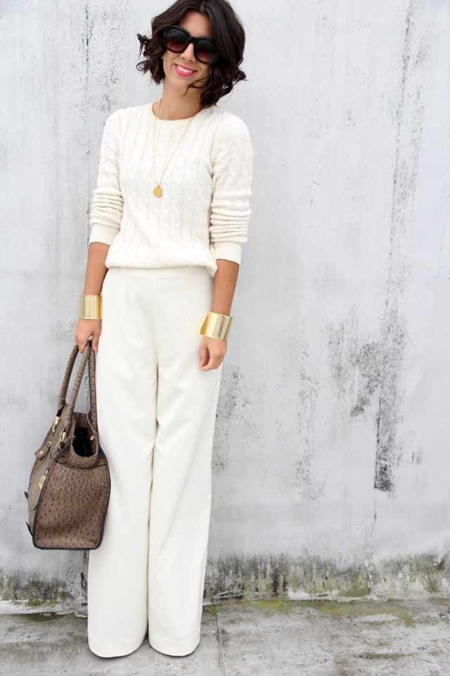 10 Ways to Wear Clean White Outfits for Spring 2020