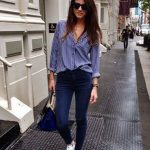101 Informal Work Outfits With Sneakers