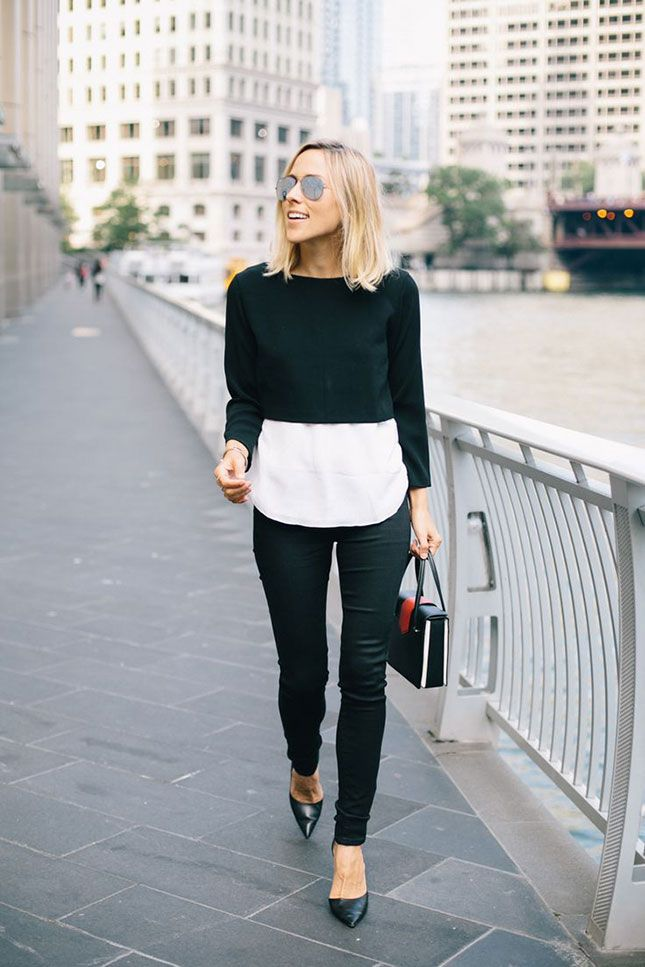 11 Ways to Wear a Crop Top like a Style Blogger This Fall