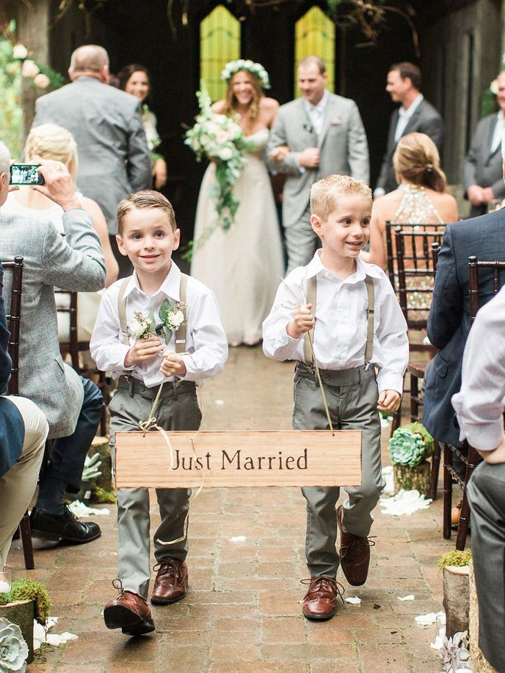 12 Adorable Ring Bearer Signs