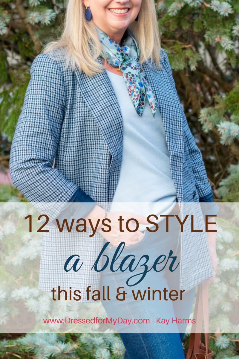 12 Ways to Style a Blazer