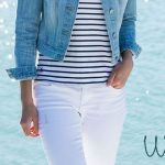 14 stylish spring outfits with white jeans