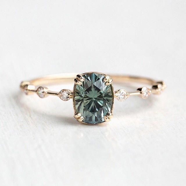 14K Rose Gold Morganite Ring Unique Morganite Ring Branch Ring Morganite Engagement Ring