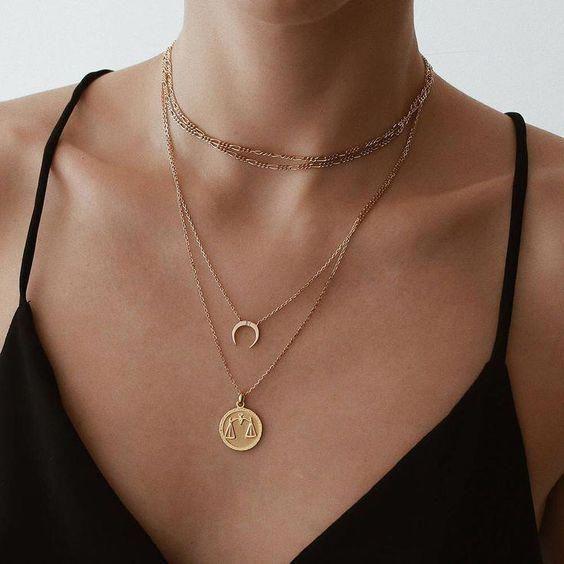 14k White Gold Micro Pave Diamond Leaf Dainty Necklace Pendant Charm
