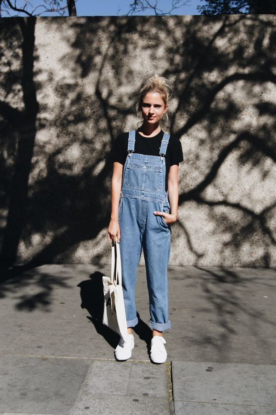 15 Photos Of Dungaree Overalls That Prove They're Fashionable