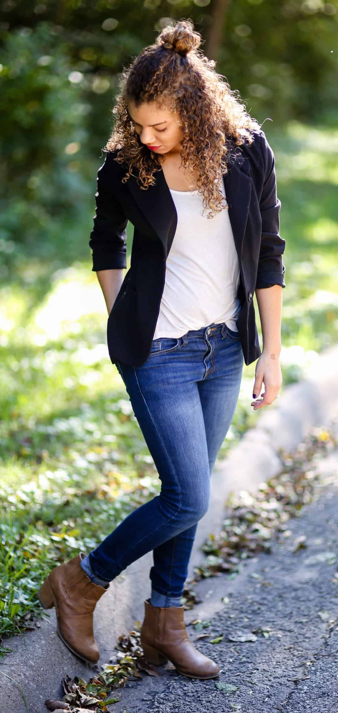 15 Ways to Wear a Black Blazer