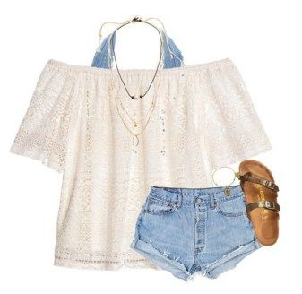 150 pretty casual shorts summer outfit combinations (127)