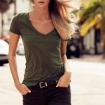 150 pretty casual shorts summer outfit combinations (142)