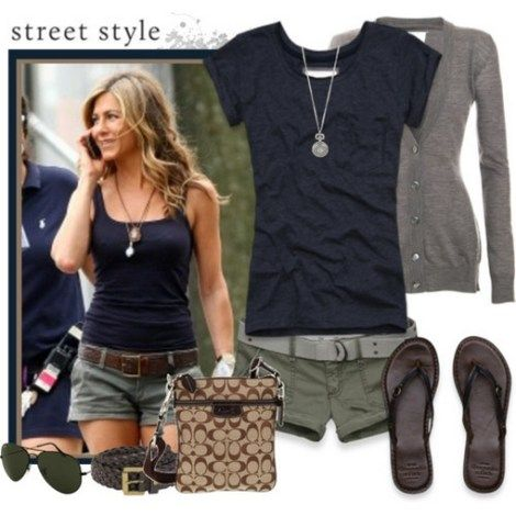 150 pretty casual shorts summer outfit combinations (150)