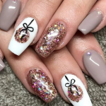 151 christmas nail art designs & ideas for - page 40 ~ bloganisa.online