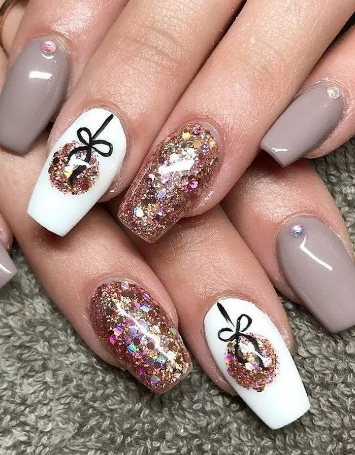 151 christmas nail art designs & ideas for – page 40 ~ bloganisa.online