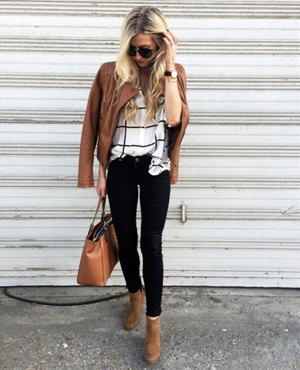 39 Stylish Brown Leather Jacket Outfits Ideas To Makes You Look Fashionable – TILEPENDANT