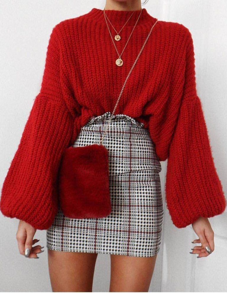 STREET STYLE WAYS TO WEAR A FALL SWEATER NOW 2019 – Page 16 of 40