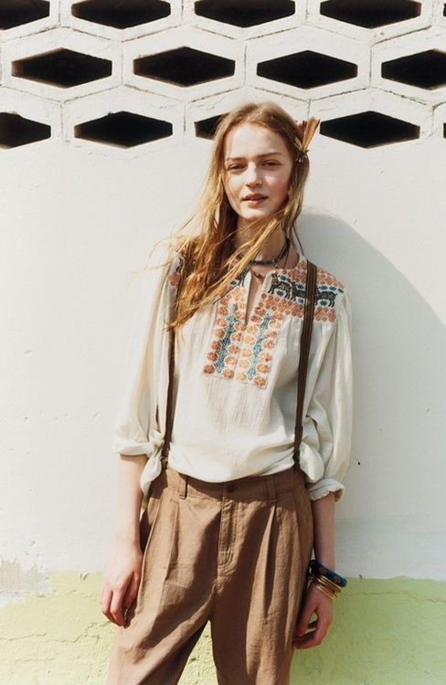 Boho-Chic Queen Style: Peasant Tops  #peasant #queen #style