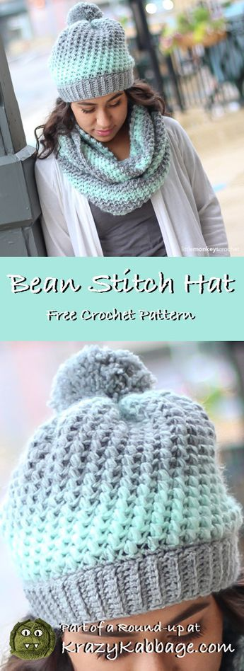 Slouch Hats Free Crochet Patterns – Krazy Kabbage #crochet #free #pattern #slouc…