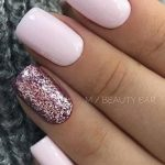 40+ Cute and Beautiful Glitter Nail Designs Ideas For Summer - Page 19 of 40