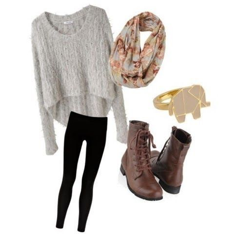 Hipster Girls' Outfits For Winter