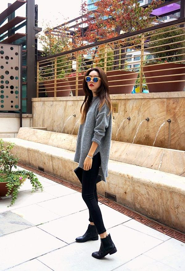 How to wear Ankle Boots Outfit in Style? (45 Ideas