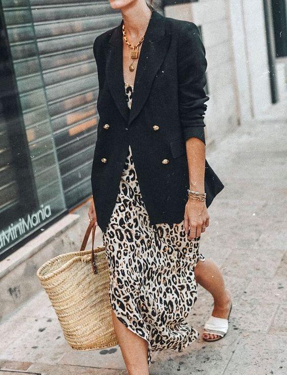 Silk midi skirt leopard print 100% real Soft silk skirt fall color fall trends spring animal print long bias skirt silk clothing women slip