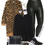 Plus Size Leopard Cardigan Outfit Ideas