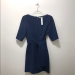 "Alice + Olivia dress. This brilliant blue Alice + Olivia ""Virgil"" dress is both ..."