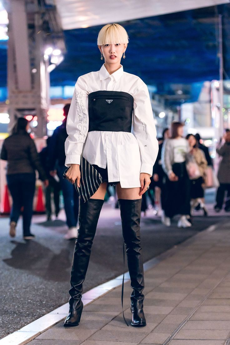 The Best Street Style From Tokyo Fashion Week Fall 2019