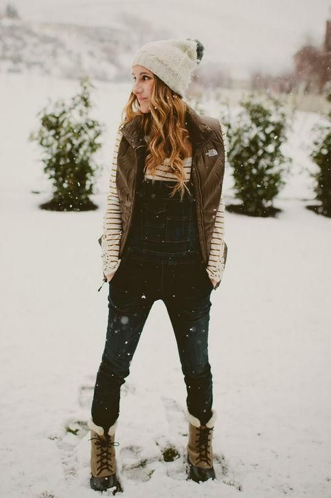 Overalls, a Winter Staple? You Bet! Here's How to Style Them