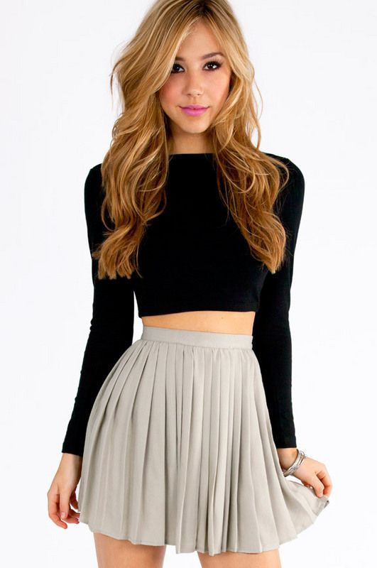 20 Styles to Wear Crop Tops and Skirts for Summer – Pretty Designs