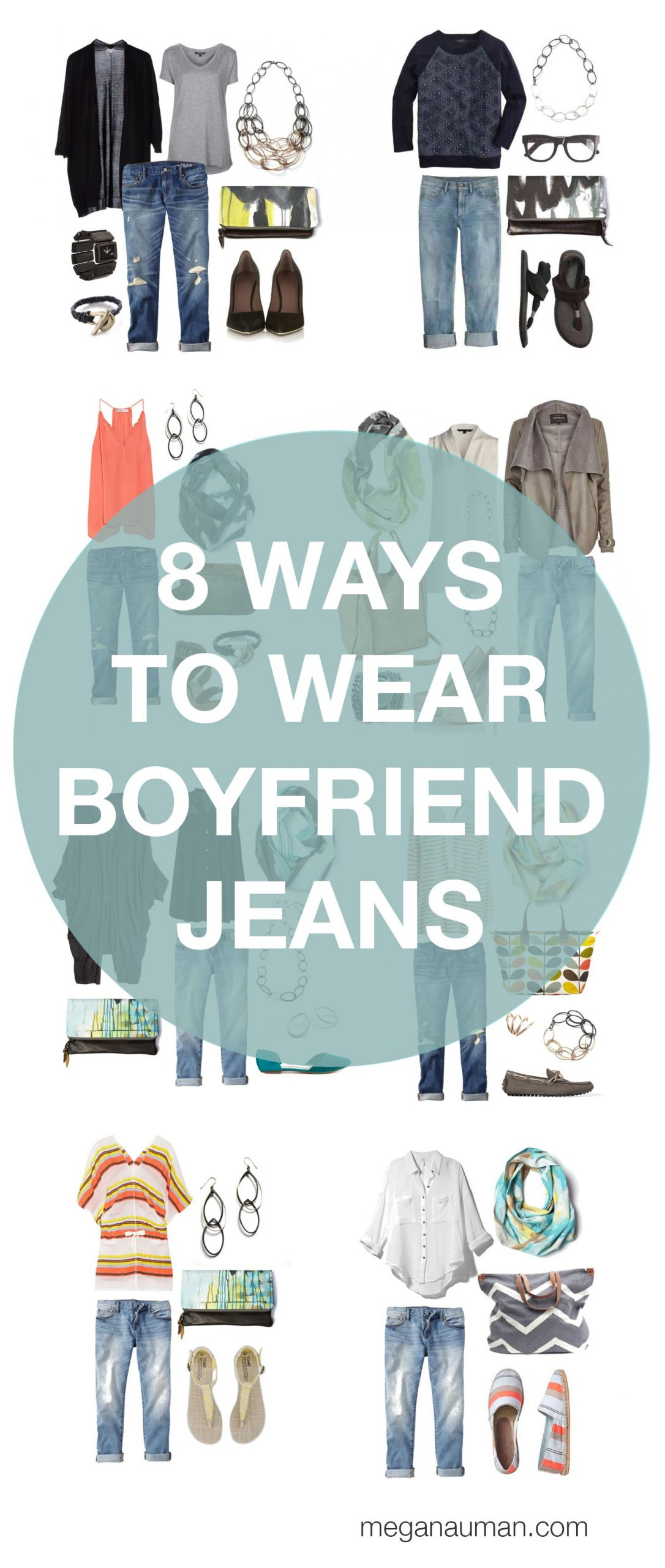 how to wear boyfriend jeans – 8 ways to style your boyfriend jeans
