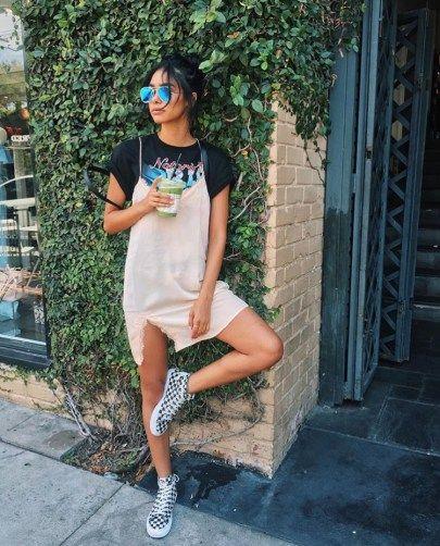 20 Ways To Wear Slip Dresses