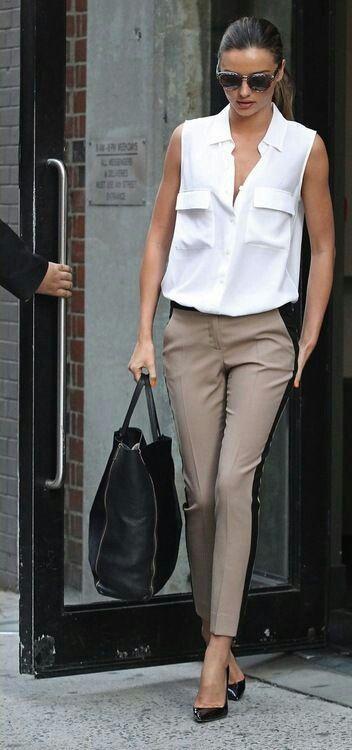 40 Inspiring Ways To Wear White Blouse