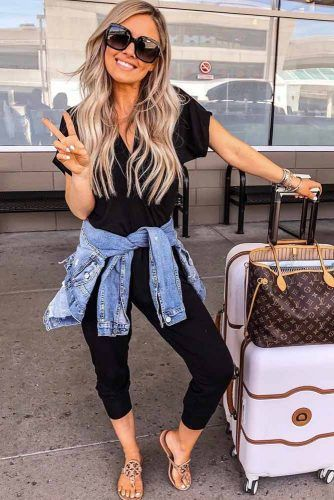 33 Airplane Outfits Ideas: How To Travel In Style