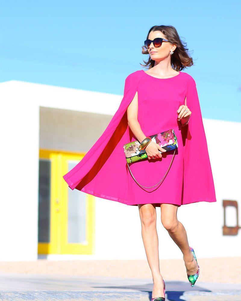 How To Wear a Cape Dress Like a Fashion Superhero
