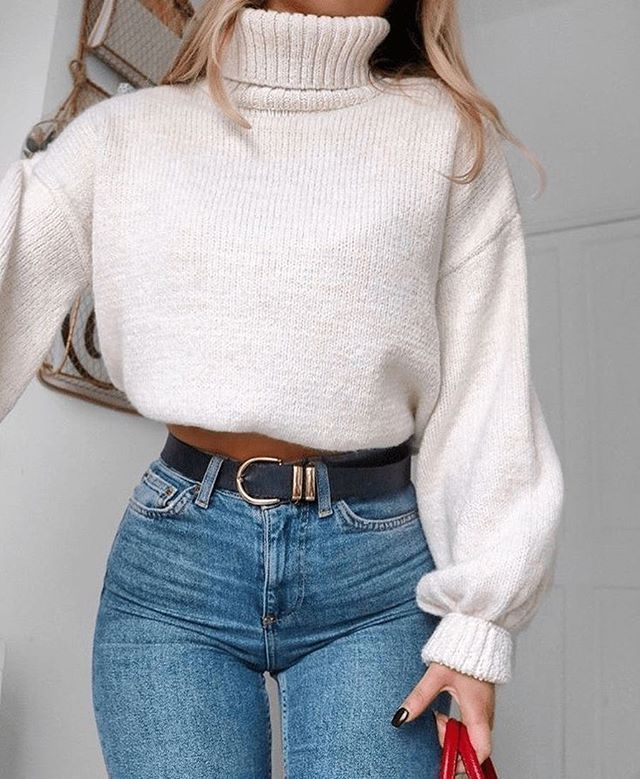 15 Trendy Autumn Street Style Outfits For This Year – fall outfits simple denim …