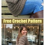 Easy Cocoon Shrug Free Crochet Pattern