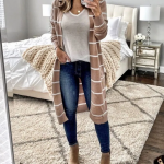 √45 Gorgeous Cardigan Outfit Ideas For Fall 2019 #cardigan #cardiganideas #fal...