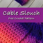 Slouch Hats Free Crochet Patterns - Krazy Kabbage #crochet #free #pattern #slouc...