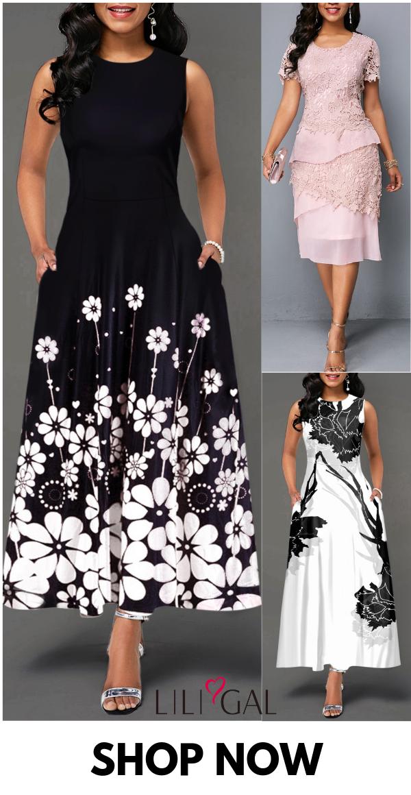 Modest Spring Summer Dresses For Women 2019