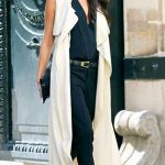 42 popular women long vest outfit ideas for fall - Trends Fashion