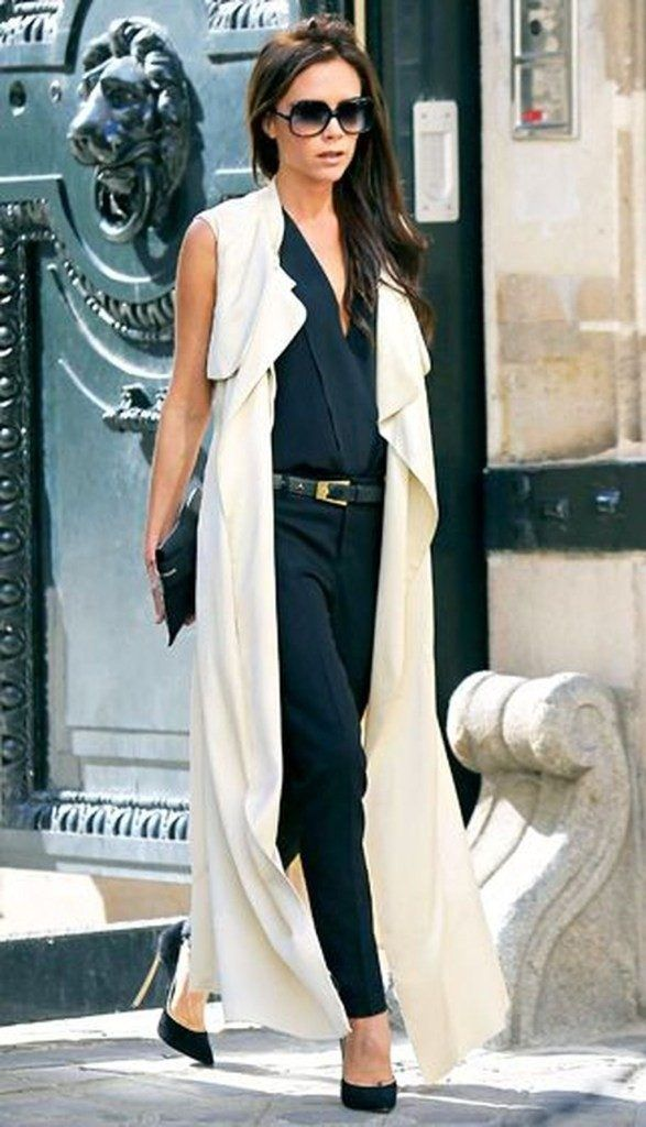 42 popular women long vest outfit ideas for fall – Trends Fashion